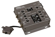 6 Channel Electronic Crossover Subwoofer Control/clarion Car Audio Mcd360 3way