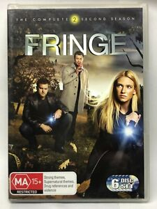 Fringe - Complete Second Season - 6 DVD Box Set - AusPost with Tracking