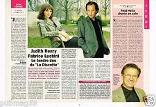Coupure de presse Clipping 1993 (1 page 1/2) Judith Henry et Fabrice Luchini