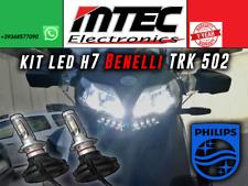 MTEC KIT LED H7 X3 // SPECIFICO BENELLI TRK 502 // 6500K // CHIP ZEN2 PHILIPS
