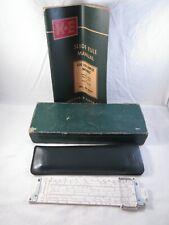 Vintage Keuffel & Esser #68 1287 - Old 4181-1 Slide Rule