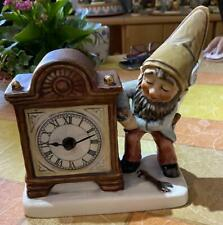 Goebel  Brad der Uhrmacher Coboy mit Uhr aus den 80igern  Top Zustand 1.Wahl