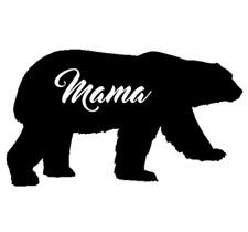 Mamá oso, Coche, Furgoneta, Camioneta, Camión, Moto, etiqueta, pegatina, Reino Unido hizo.
