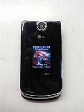 Black LG Chocolate VX8600 Verizon Flip Cellular Phone Camera Bluetooth Fair