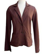 NWT TOMMY BAHAMA 100% Silk Brown Blazer Jacket Womens Small (S) NEW