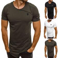 Herren-T-Shirts aus Baumwolle mit Basic in normaler Größe