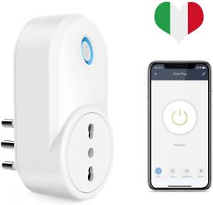 Maxcio Presa Intelligente WiFi, Smart Italiana 16A Compatibile 1 Pack
