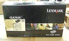 New ! GENUINE Lexmark E321 E323 Laser Printer Black Toner 12A7400 Return Program
