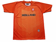 Holland Soccer Jersey 100% Polyester Orange Drako One Size Fits All Sh. Sleeve