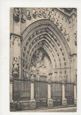 Toledo Catedral Puerta De Los Leones Spain 1911 Postcard 942a