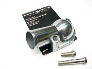 Spectre Chrome Plated Aluminum Thermostat Housing Water Neck 66-up Chevy SBC BBC
