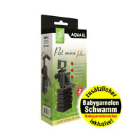 Aquael Pat Mini Innenfilter +  Babygarnelen Schwamm