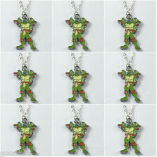 Lot 9pcs Turtle Brother w/ Stick Charms Pendants Necklaces Birthday Favors Gifts