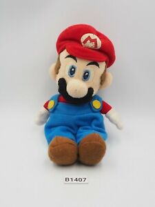 "Super Mario Party B1407 Sanei 2003 Beanie Plush 7"" Toy Doll Japan"