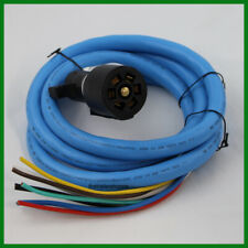 Cold Weather Insulated Trailer Light Plug Wiring Harness 7 Way 10' Cord Trailer