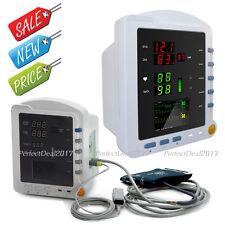 Portable Vital Sings Monitor ICU Patient Monitor NIBP SPO2 PR CMS5100 Color New