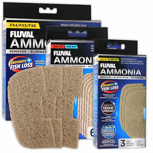 Fluval Ammonia Remover Media Pad Resin-Infused 07 External Filters Aquarium Fish