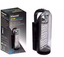 2x LED Infapower 60 LED DI EMERGENZA RICARICABILE Lanterna Torcia Luce Lavoro a casa auto