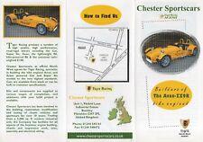 Chester Avon-ZX9R kit car (Lotus 7 replica, made in GB) _2003 Prospekt Brochure