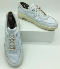 NEW BALANCE WW811WT White Leather Walking Shoes Women's Size 10 1/2 4A