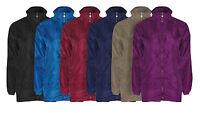 Mens Ladies New Raincoat Mesh Hooded Plus Size  Kagool Cagoule Mac Coat Jacket