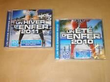 LOT 2 CD / ETE D'ENFER 2010 + HIVER D'ENFER 2011 / NEUFS SOUS CELLO