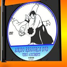 Yoshinkan AIKIDO Risorsa di formazione PCDVD 9 ore di video & testo esercitazioni ETC NUOVO