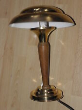 Light table lamp desk vintage art deco old Lampe Bauhaus Polished Brass Rétro