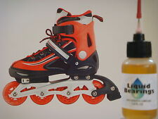 Liquid Bearings, Superior 100%-synthetic oil for Faster Rollerblades, Read!