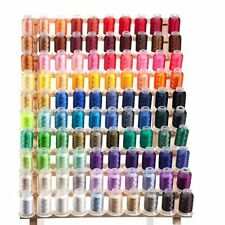 Embroidex 100 Spools Polyester Embroidery Machine Thread - STUNNING COLORS