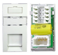 Philex Easy-Fit Snap-In Secondary PabX Wall Outlet BT Phone Module