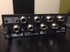 Yamaha MY8-AD24 Analog Input Card: AW4416 02R96 01V96 LS9 DM1000 DM2000 AW2816