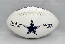Larry Brown Autographed Dallas Cowboys Logo Football W/ SB MVP- JSA W Auth