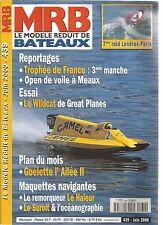 MODELE REDUIT DE BATEAU N°439 LE WILDCAT / MAQUETTES NAVIGANTES : LE HALEUR...
