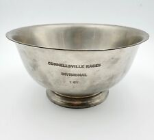 #2 Vintage Connellsville, PA Car Races Divisional 1st Place Pewter Trophy Bowl