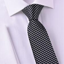 "Grey Purple Luxury Geometric 3"" Skinny Tie Luxury Fashion Boss Suit Accessory GQ"