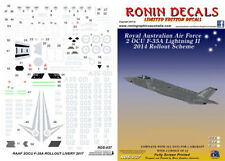 1/48 RAAF 2 OCU F-35A Lightning II Roll Out 2014 Decals for Kitty Hawk kits