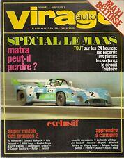 VIRAGE AUTO 1973 6 24H MANS 1000KM SPA & MONZA GP ESPAGNE RALLYE MAROC 10 Gr2