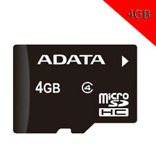 ADATA 4GB Micro SD Class 4 Speed C4 4GB TF Mmemory Card ORIGINAL NEW For Storage
