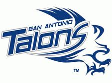 San Antonio Talons AFL Arena Football Mens Embroidered Polo XS-6X, LT-4XLT New