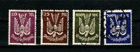 Germany stamps #C16 - C19, short set, used, no C15 , 1923, SCV $64