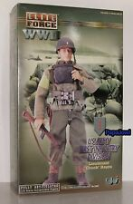 WWII Elite Force Lieutenant Chuck Hayes US Army 1st Infantry Division Figure