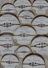 Rhinestone Silver Plated Fashion Bangles