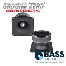 "Ground ZERO GZCT - 3000X 4.02"" pollici 120 WATT 4-Ohm COMPRESSIONE TWEETER AUTO SINGOLO"