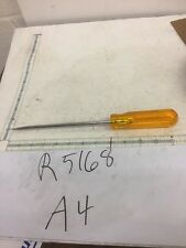 "XCELITE R5168 5/16"" x 8"" Regular Round Blade Screwdriver, Amber Handle $30"