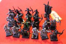 Juegos taller Warhammer Fantasy elfos alto elfo arqueros Bowmen nobles regimiento