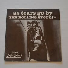 """ROLLING STONES - AS TEARS GO BY - 1966 US 7"""" SINGLE"""