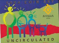 CB643) Australia 1994 year RAM uncirculated coin set. In original packaging