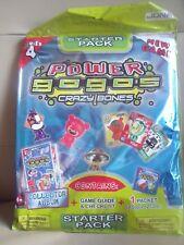 BNIP Power GoGo's Crazy Bones Starter Pack - Series 4 - Album / 2 Gogo's & Cards