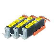 3 YELLOW Quality Printer Ink for Canon CLI-251 CLI-251XL MG5420 MG5422 MG5522